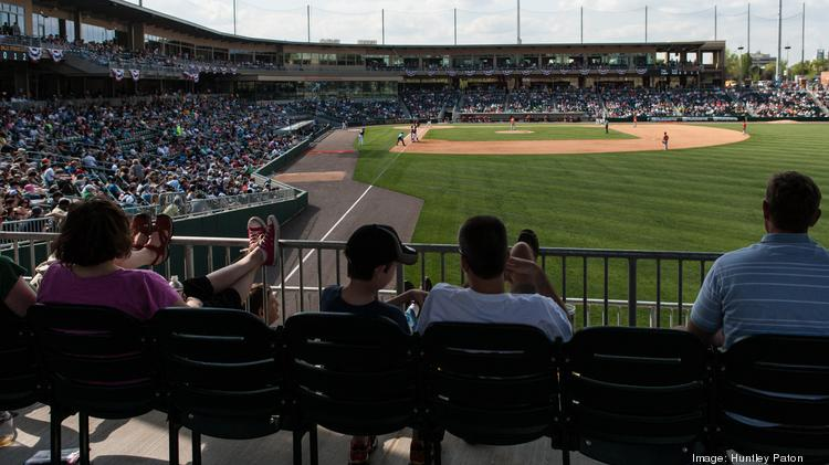 Large crowds have become a familiar sight at BB&T BallPark since the $54 million stadium opened in April.