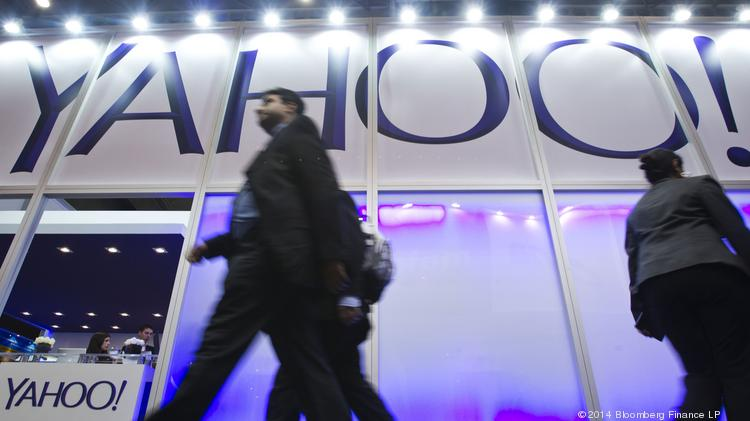 Yahoo shares fell Monday following an SEC disclosure by Alibaba regarding the company's operating margins.