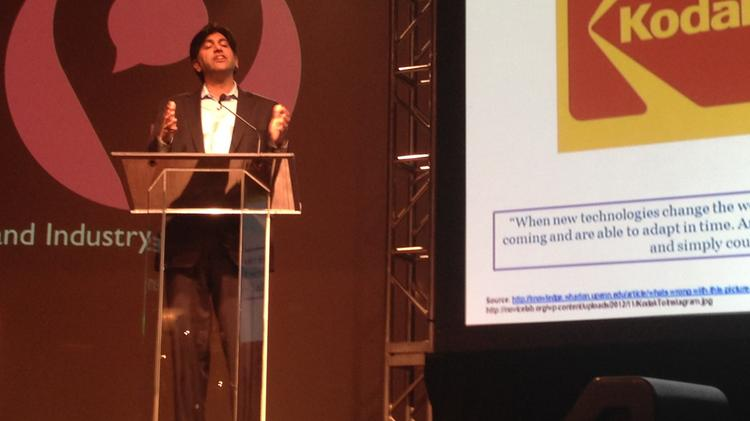 Aneesh Chopra, the first chief technology officer of the U.S., shared insight on open data at this year's Phorum.