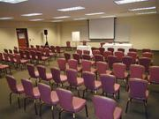 The Lions Gate Hotel at McClellan Park has added a very large conference center to its existing meeting rooms. It has now has the largest meeting facilities of any local hotel.