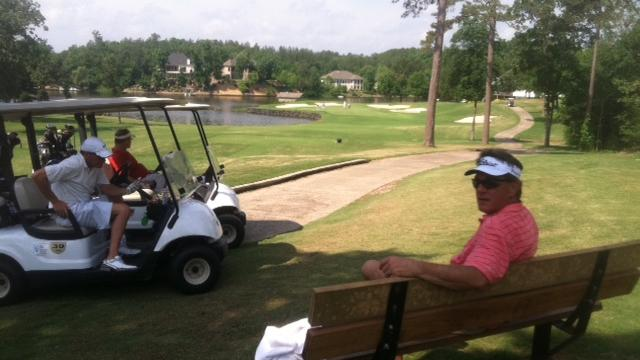business on the golf course