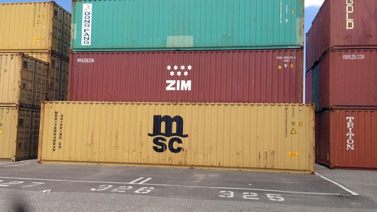 Port Tampa Bay container cargo