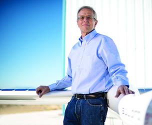 Vern Raburn is the CEO of Titan Aerospace, a New Mexico-based  startup that makes solar-powered, high-altitude drones. It's being acquired by Google.