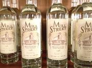 Mill Street Moonshine is a corn whiskey and can be found in more than 30 stores around Central Ohio and in some bars.