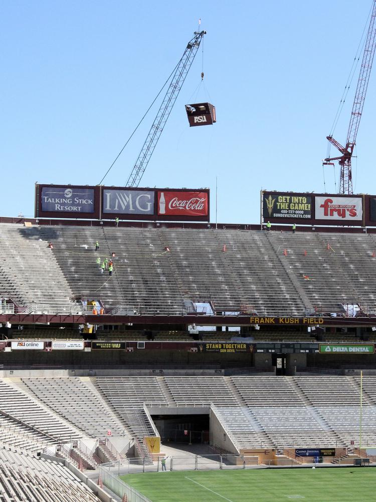ASU confirmed it will seek a naming-rights agreement for Sun Devil Stadium.