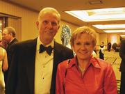 Attending the ball were Ken Potish of Alpha Leasing Co. and his wife, attorney Gail Russell of Goldberg Simpson law firm.