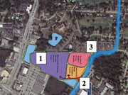 The potential site is zoned for multifamily, retail and a school.