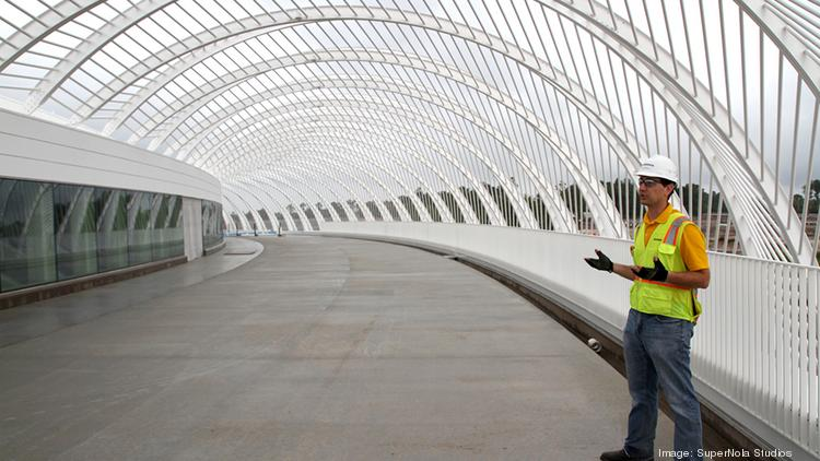 Sam Ruggiero took the TBBJ on a tour of ongoing construction at Florida Polytechnic University.