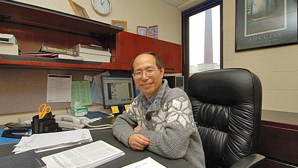Jianguo Gu, an anesthesiology professor at the University of Cincinnati College of Medicine, led a research team working on how certain cells play a role in the sense of touch.