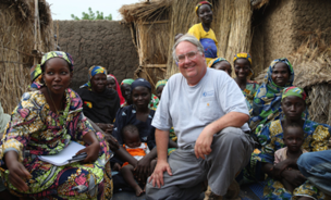 Howard G. Buffett, philanthropist and farmer, established his foundation to serve impoverished nations.