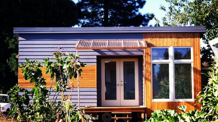 tiny houses such as this 200 square foot one in portland oregon - Tiny Houses Real Estate
