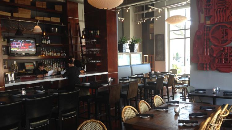 The newly opened 3 Trade offers a mix of contemporary American and Lowcountry fare, as well as sushi and pastas.