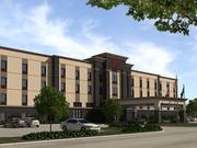 Western International plans to build a Courtyard by Marriott and a Hampton Inn Suites (pictured) by Hilton in Houston's Energy Corridor.