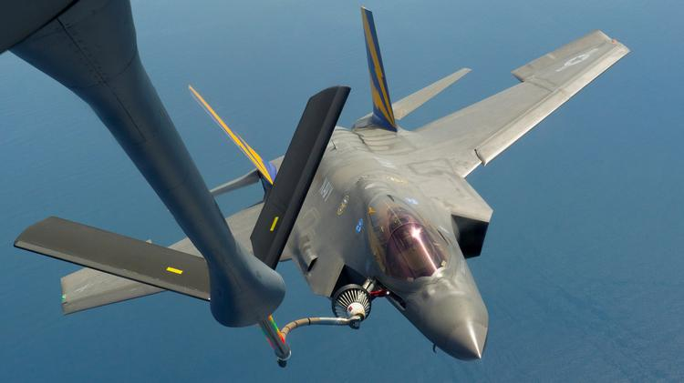 The Air Force has temporarily grounded its fleet of F-35 fighter jets.