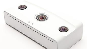 The device can capture 3D stereo video; surveillance video; and detect wireless data (smartphones).