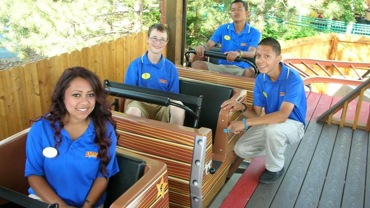 Ride operations is one of the positions Elitch Gardens is hiring for during the 2014 season.