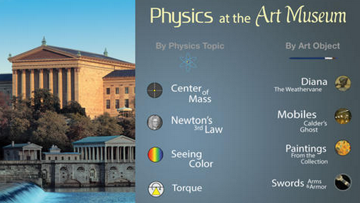 A new iPad app turns art into a science lesson.