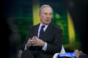 Michael  Bloomberg, Bloomberg LP founder and former mayor of New York City, at a Bloomberg Television interview in New York in January 2014.