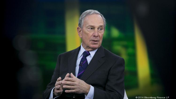 Michael  Bloomberg, Bloomberg LP founder and former mayor of New York City.