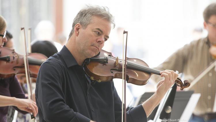 Frank Almond, concertmaster of the Milwaukee Symphony Orchestra, has been named as the first artist-in-residence of the Milwaukee Youth Symphony Orchestra.