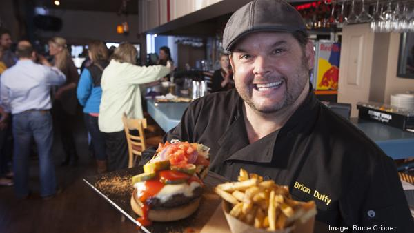 Celebrity chef Brian Duffy helped create the new menu at Mt. Adams Pavilion.