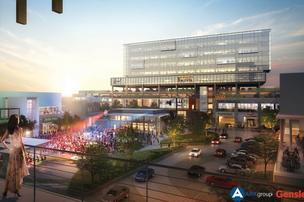 Irving's Music Factory is envisioned to have a large open plaza for large concerts and to host major events throughout the region.