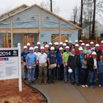 Triangle CEOs lend a helping hand for Habitat for Humanity