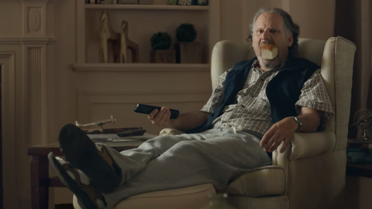 Rolls get sucked into the mouths of a family in a new King's Hawaiian TV spot from Energy BBDO/Chicago.