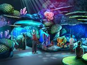 Rendering of merlin entertainment's new sea life orlando attraction