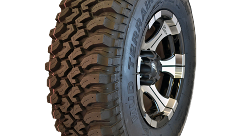 TreadWright's tires are made of 70 percent recycled material — primarily the used tires' casing.