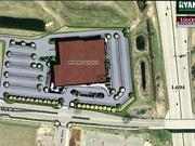 The proposed CSI building would be situated near the northwestern quadrant of Interstate 694 and Interstate 35W. The north-facing side of the building is on the left.