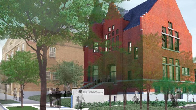 Emerge Community Development is turning an 1800s library in North Minneapolis into a job-training center.