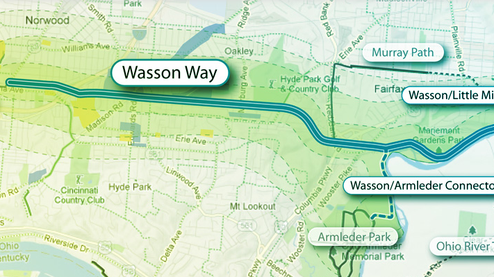 Here's a look at the Wasson Way project