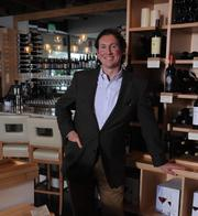 Michael Bryan of Vino Venue has event space in the wine store and restaurant.