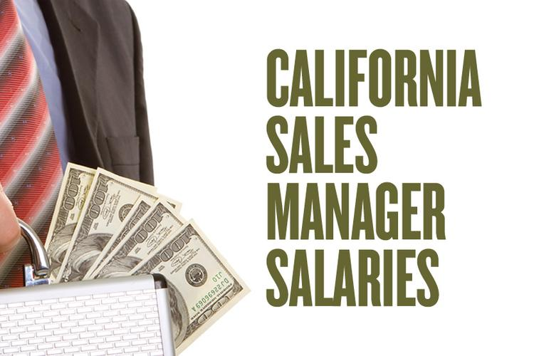 A slideshow uses U.S. Bureau of Labor Statistics data to rank the salaries of sales managers in California's major metros.