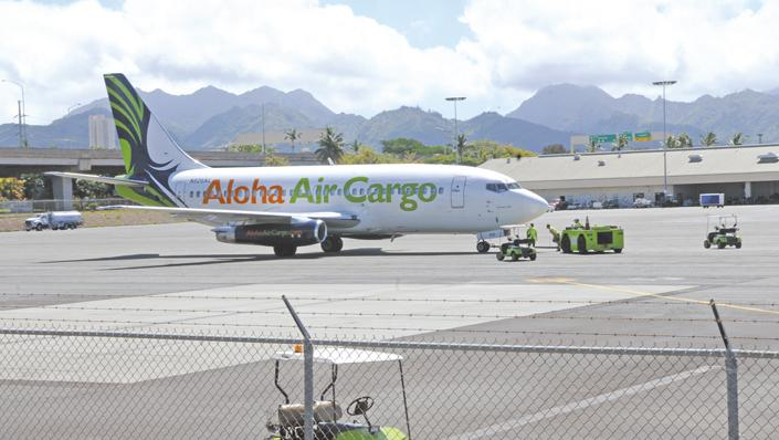 Based in Hawaii, Aloha Air Cargo is owned by Seattle-based Saltchuk, which in turn is owned by the founder's three daughters.
