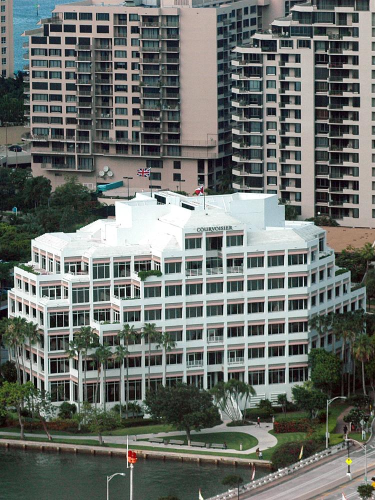 Courvoisier Centre on Brickell Key is considered 'a highly desirable asset.'