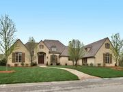 A spec home in the Flint Hills Residences development that recently sold.