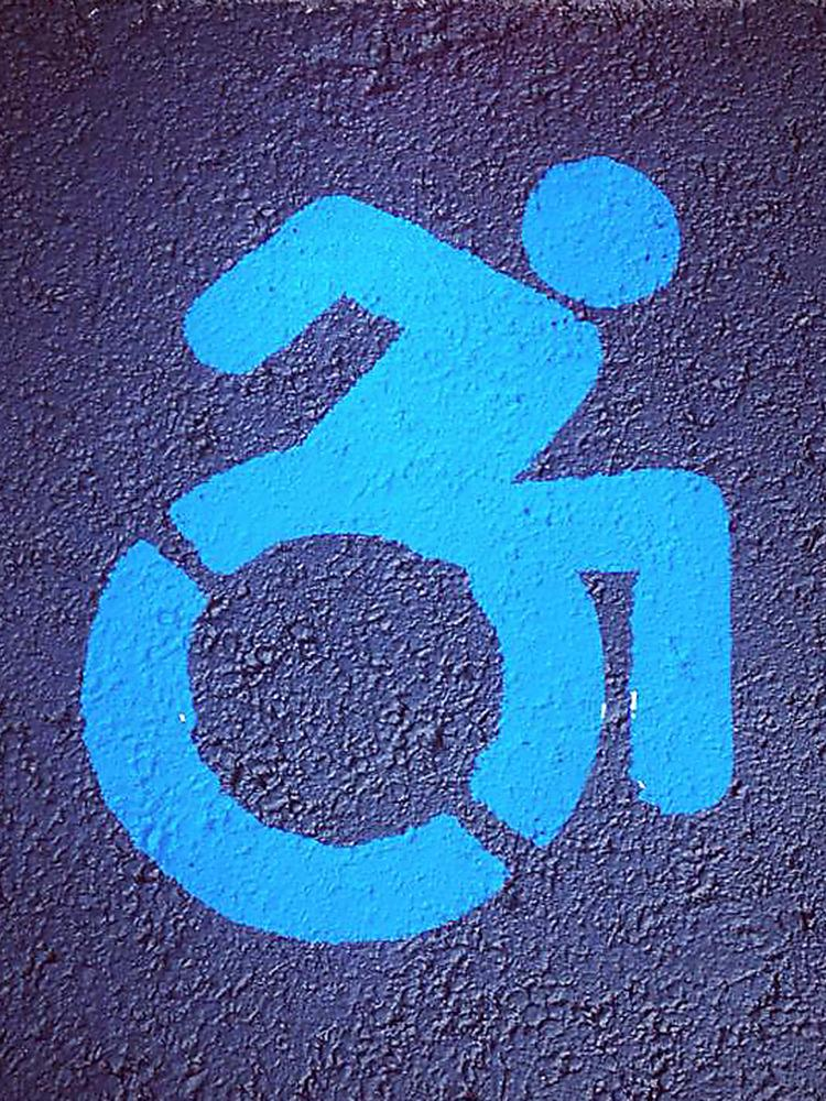 Disability access icon.