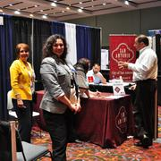 The San Antonio Economic Development Department hosted a booth in the exhibit area at the 2013 Innotech conference.
