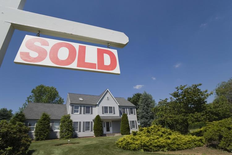 For the first quarter of the year, completed sales of new and existing homes increased 1 percent