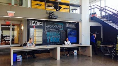 Entrepreneurs drove from New York, New Jersey and Connecticut to pitch their business ideas on Thursday at Cambridge co-working space Workbar in hopes of getting national exposure on ABC's Shark Tank.