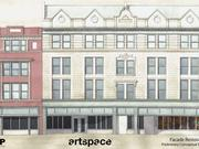 The project involves renovation of two historic buildings at 220-224 High St.