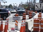 Cherry Creek North has been mired for months in paving and drainage-improvement projects as well as  construction on seven major developments.
