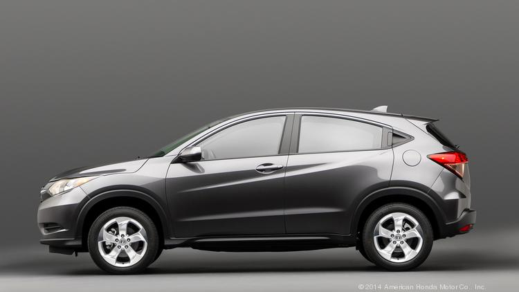 The Honda HR-V is designed to be a smaller version of the automaker's popular CR-V.