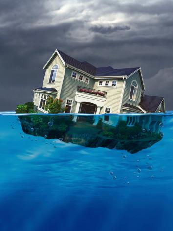 Jacksonville is tenth in the nation for foreclosures seriously underwater, according to research from RealtyTrac.