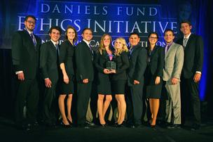 University of Colorado-Colorado Springs wins Daniels Fund competition