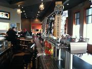 BlueStone Steak & Seafood has 16 beer taps. The Eagan restaurant was designed by Shea Inc. of Minneapolis.
