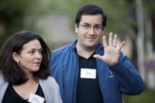 David Goldberg, CEO of Palo Alto-based SurveyMonkey, made it clear when he raised nearly $800 million in debt and equity financing in January that he has little appetite for going public. He is shown here with his wife, Facebook Chief Operating Officer Sheryl Sandberg. His backers include Google, Iconiq Capital, Bank of America, JP Morgan Chase & Co., Bain Capital Ventures and Social+Capital Partnership.