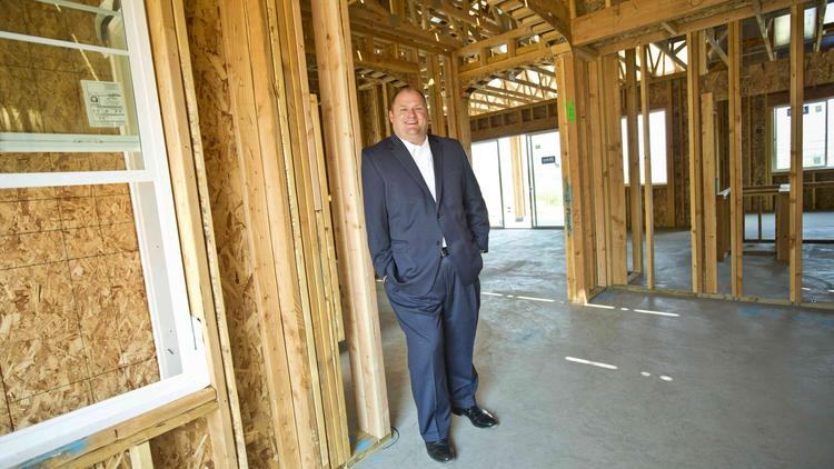 Dustin Bogue is CEO of  UCP, a San Jose-based home developer and builder.